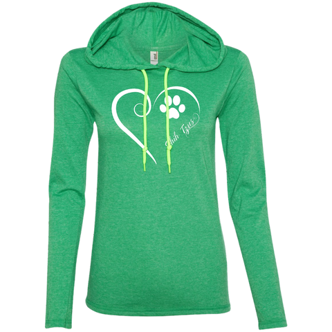Shih-Tzus, Always in my Heart Ladies T-Shirt Hoodie