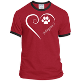 Pekingese, Always in my Heart Ringer Tee