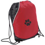 Paw Print Two-Toned Cinch Pack