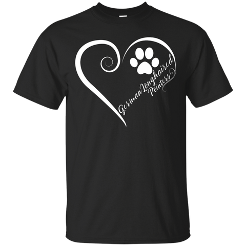 German Longhaired Pointer, Always in my Heart Tee
