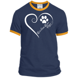 Karelian Bear Dog, Always in my Heart Ringer Tee
