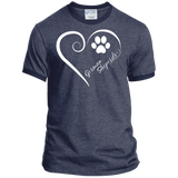 German Shepherd, Always in my Heart Ringer Tee
