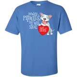 Pit bulls Steal Your Heart Ultra Cotton T-Shirt