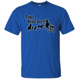 Paws Read Here Since 1692 Tee