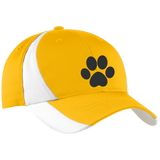 Paw Print Mid-Profile Colorblock Hat