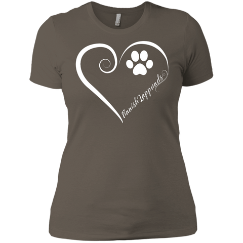 Finnish Lappund, Always in my Heart Ladies' Boyfriend Tee