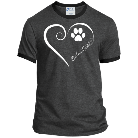 Dalmatian, Always in my Heart Ringer Tee