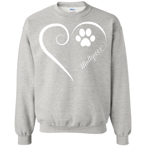 Maltipoo, Always in my Heart Sweatshirt