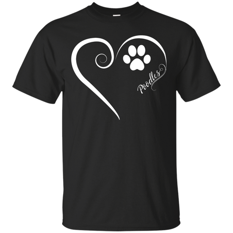 Poodle, Always in my Heart Tee
