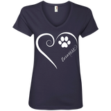 Eurasier, Always in my Heart Ladies V Neck Tee
