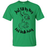 Just Fill My Mug and Walk Away Unisex G200 Gildan Ultra Cotton T-Shirt