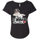 I Kissed a St. Bernard Dolman Sleeve