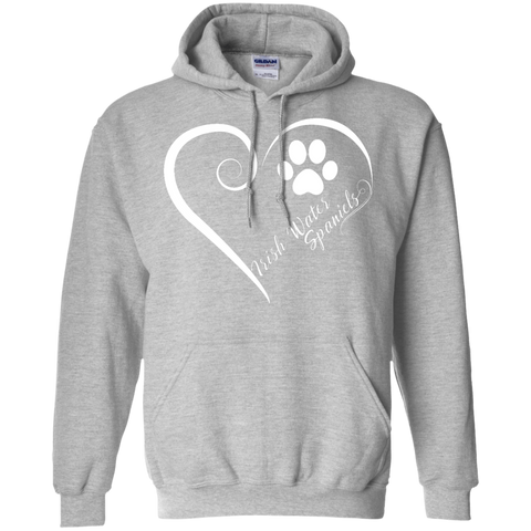 Irish Water Spaniel, Always in my Heart  Hoodie