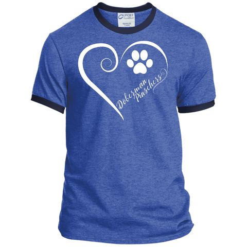 Doberman Pinscher, Always in my Heart Ringer Tee