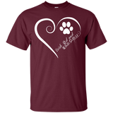 Irish Red and White Setter, Always in my Heart Tee