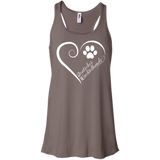 Deutscher Wachtelhund, Always in my Heart Flowy Racerback Tank