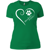Manchester Terrier, Always in my Heart Ladies' Boyfriend Tee