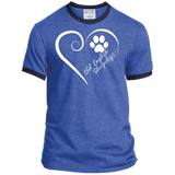 Old English Sheepdog, Always in my Heart Ringer Tee