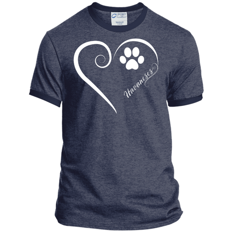 Havanese, Always in my Heart Ringer Tee