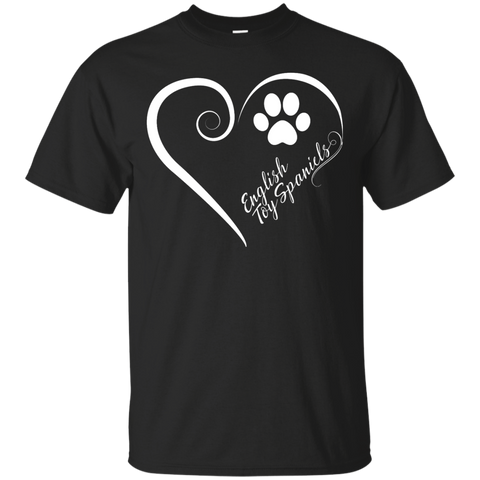 English Toy Spaniel, Always in my Heart Tee