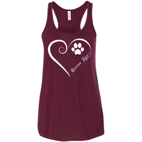 Russian Toy, Always in my Heart  Flowy Racerback Tank