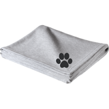 Paw Print Embroidered Sweatshirt Blanket
