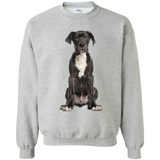 Great Dane Puppy Unisex Gildan Crewneck Pullover Sweatshirt 8 oz.