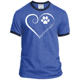 English Foxhound, Always in my Heart Ringer Tee