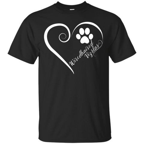 Wiredhaired Vizsla, Always in my Heart Tee