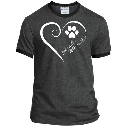 Labrador Retriever, Always in my Heart Ringer Tee