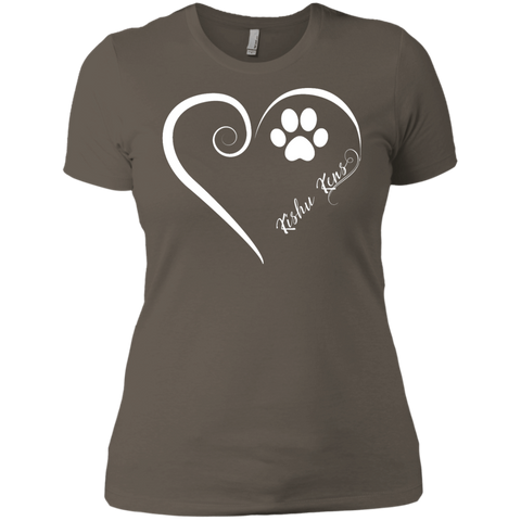 Kishu Ken, Always in my Heart  Ladies' Boyfriend Tee