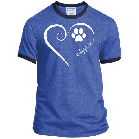 Whippets, Always in my Heart Ringer Tee