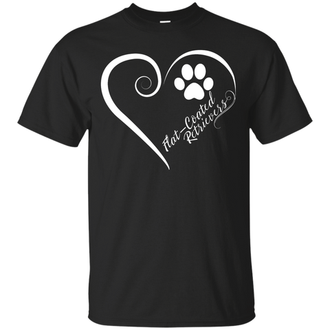 Flat-Coated Retriever, Always in my Heart Tee