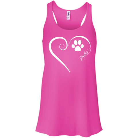 Jindo, Always in my Heart Flowy Racerback Tank