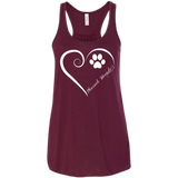 Pharaoh Hound, Always in my Heart Flowy Racerback Tank