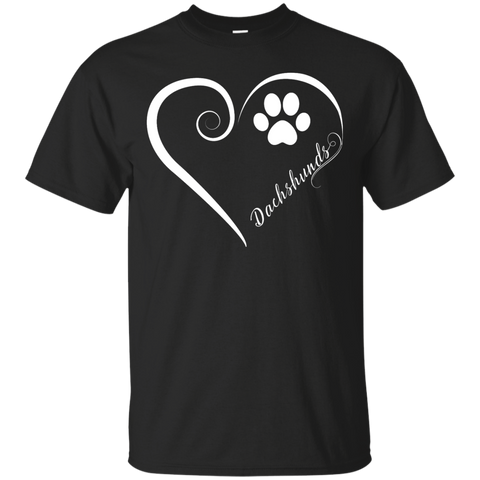 Dachshund, Always in my Heart Tee