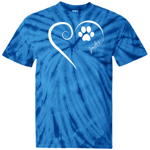 Jindo, Always in my Heart  Tie Dye Tee