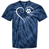Danish-Swedish Farmdog, Always in my Heart Tie Dye T-Shirt