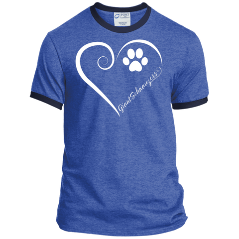 Giant Schnauzer, Always in my Heart Ringer Tee