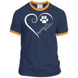 English Cocker Spaniel, Always in my Heart Ringer Tee