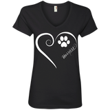Harrier, Always in my Heart Ladies V Neck Tee
