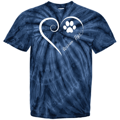 Russian Toy, Always in my Heart  Tie Dye Tee