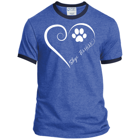 Skye Terrier, Always in my Heart Ringer Tee