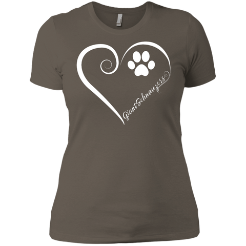 Giant Schnauzer, Always in my Heart Ladies' Boyfriend Tee