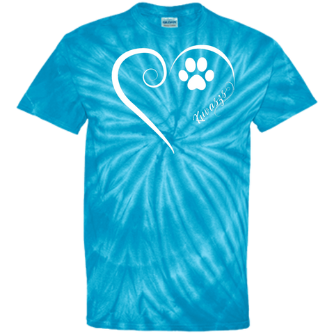 Kuvasz, Always in my Heart  Tie Dye Tee