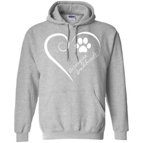 Norwegian Lundehund, Always in my Heart  Hoodie