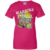 Pit Bull Lick You to Death Ladies' Tee