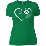 English Cocker Spaniel, Always in my Heart Ladies' Boyfriend Tee