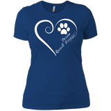 Parson Russell Terrier, Always in my Heart Ladies' Boyfriend Tee