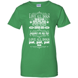 Love All Dogs Ladies Tee
